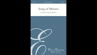 """Song of Miriam"" by Elaine Hagenberg"