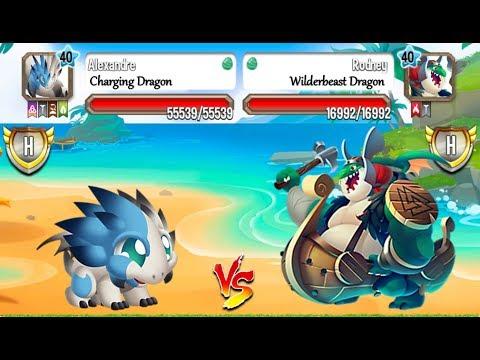 Dragon City - Charging Dragon & Wilderbeast Dragon | Ragnarok Island Combo Pack 2017