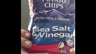 Jakester's Tim's salt and vinegar chip review