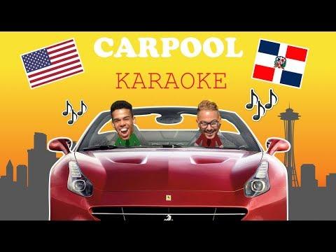 😂 KARAOKE EN EL CARRO POR LAS CALLES DE NEW JERSEY  😂 - (Carpool Karaoke)