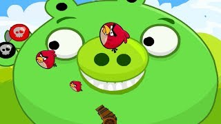 Angry Birds Cannon Birds 2 - ANGRY BIRDS CONFRONT THE GREEN PIGS !
