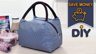 DIY HANDY STORAGE BAG TUTORIAL IN 30 MIN // Zipper Pouch Bag Save Money Idea