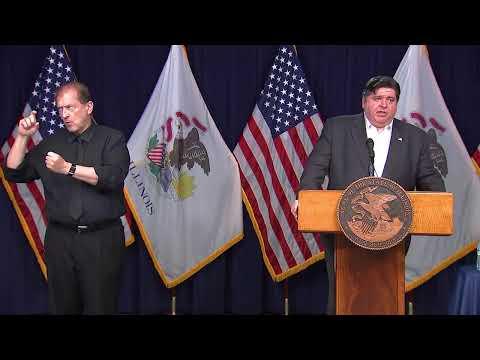 Coronavirus Illinois | Gov. JB Pritzker Gives COVID-19 Update On New IL Cases, Deaths
