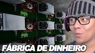 MONTANDO UMA FÁBRICA DE DINHEIRO - Streamer Life Simulator