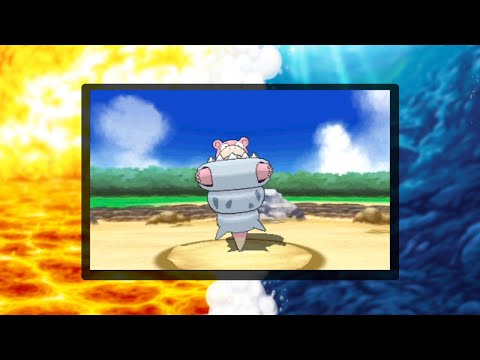 Mega Slowbro revealed for Pokémon Omega Ruby and Pokémon Alpha Sapphire!