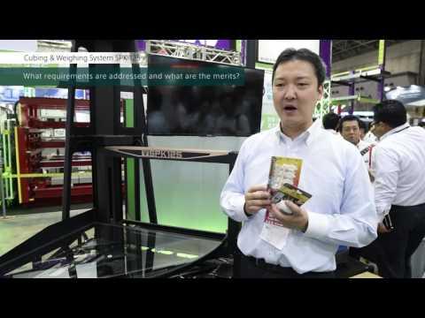 Cubing & Weighing System SPK-125 @Logis-Tech Tokyo 2016
