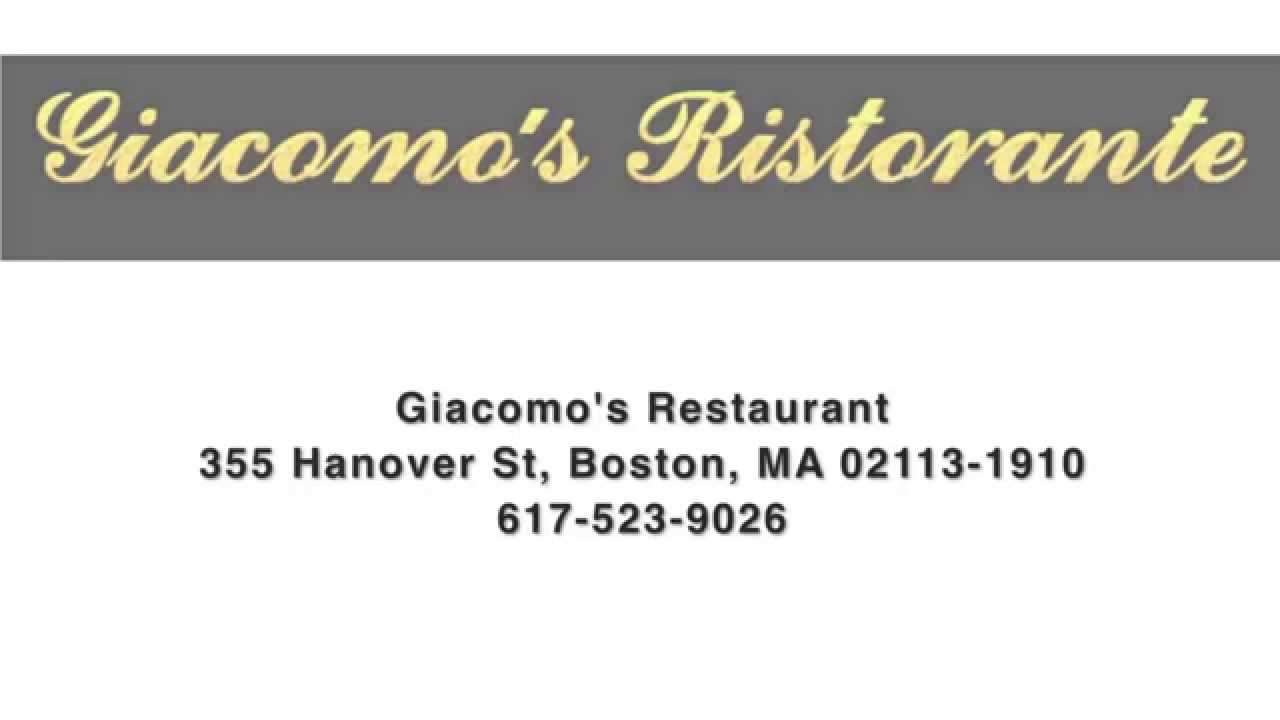 Giacomo Restaurant Boston Reviews