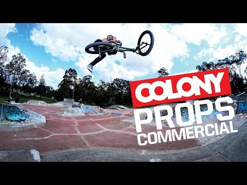 Our commercial from the latest Props video. Grab a copy of the latest issue where all the profits go to the Chris Hallman fundraiser: http://www.propsbmx.com ...