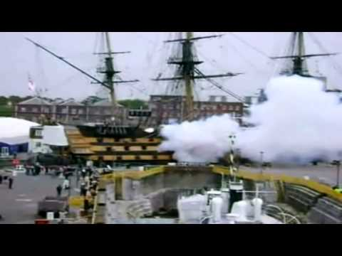 worlds best cannon fire video by worlds oldest warship victory