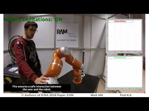 Development of a Safety and Energy Aware Impedance Controller for Collaborative Robots
