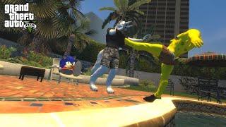 GTA V - but City kept trolling Jorston...(Funny Moments!)