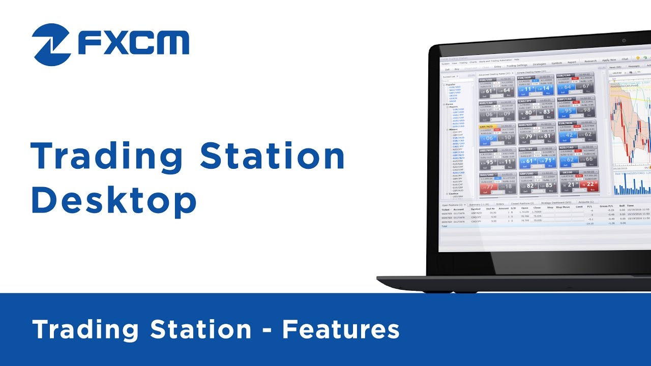 Trading Station Desktop | FXCM Trading Station II - YouTube