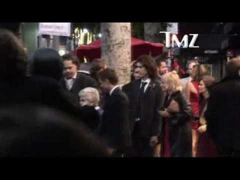 James Franco's Family at the Oscars  Feb 28, 2011