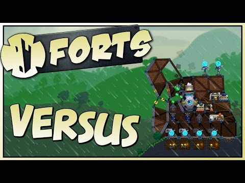FORTS WITH SUBSCRIBERS - Forts Multiplayer Gameplay - Stream VoD [Let's Play Forts Gameplay]