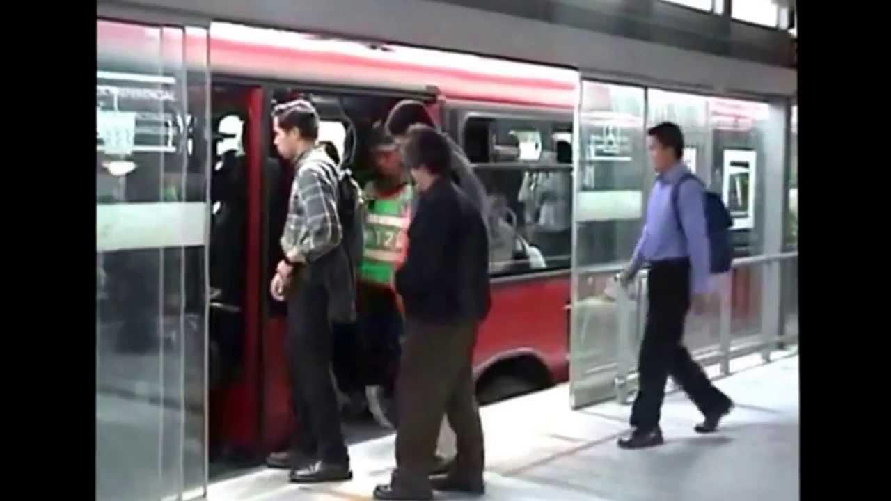 Puertas automaticas para sistema tuzo bus pachuca metro Puertas automaticas df