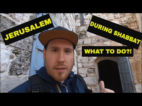 24 Hours In JERUSALEM During SHABBAT - What Can YOU Do?