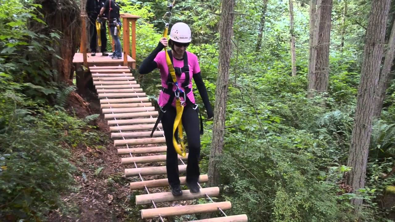 Ziplining With Canopy Tours NW