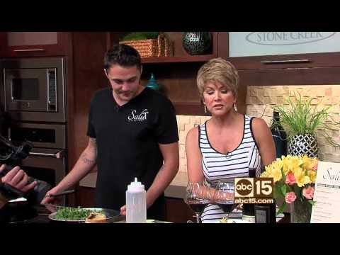 Salut Kitchen Bar Tempe AZ featured on ABC 15 Sonoran Living