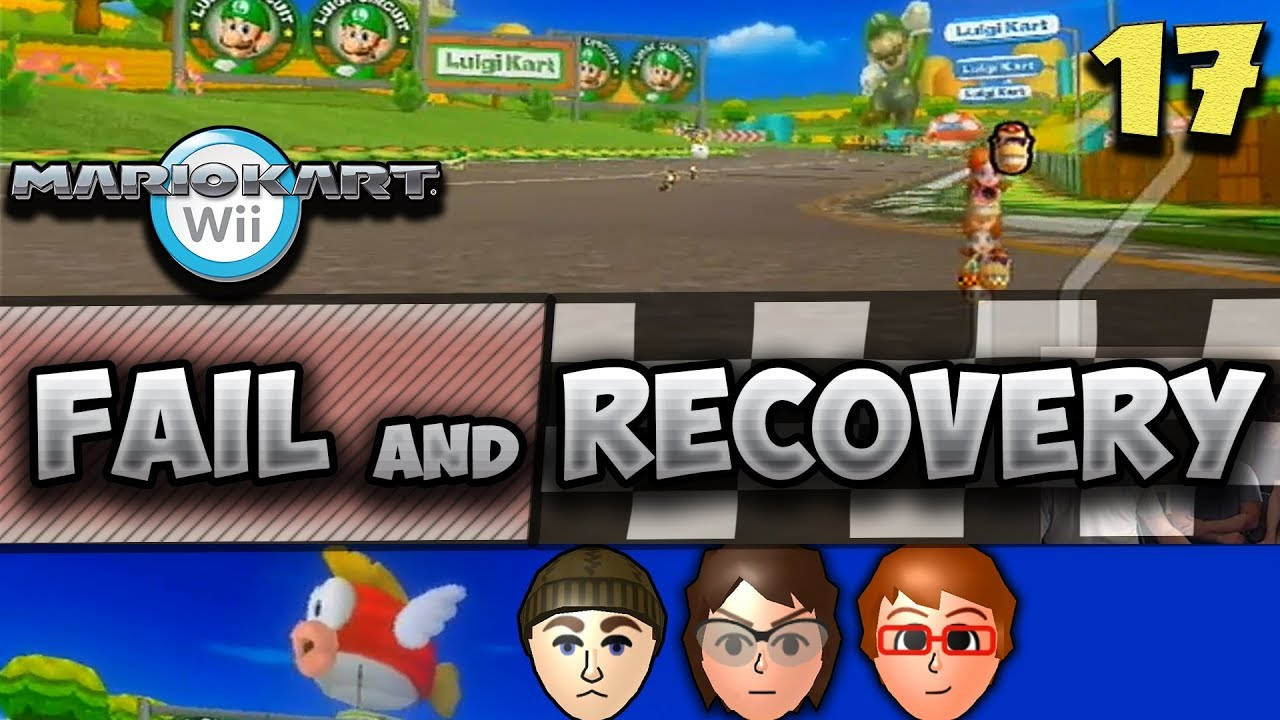 Twd98 Vidmoon Mario Kart Wii Luigi Circuit Fail And Recovery 17 Qual