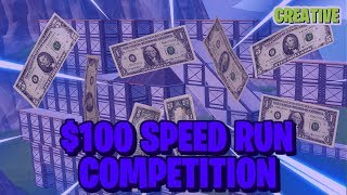 $100 Fortnite Speed Run Competion Rules And Walk-Through!
