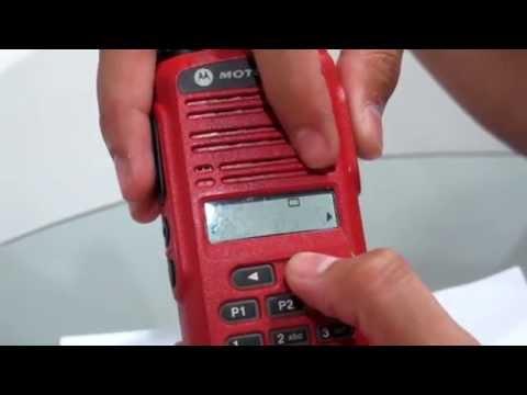 วีดีโอสาธิต การตั้งโทนช่องย่อย Motorola246