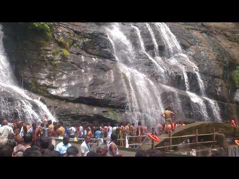 Kuttralam Waterfalls Today live Latest News TamilNadu