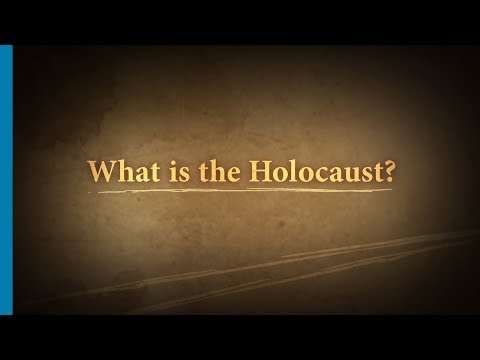 What is the Holocaust Part 1/7: Introduction