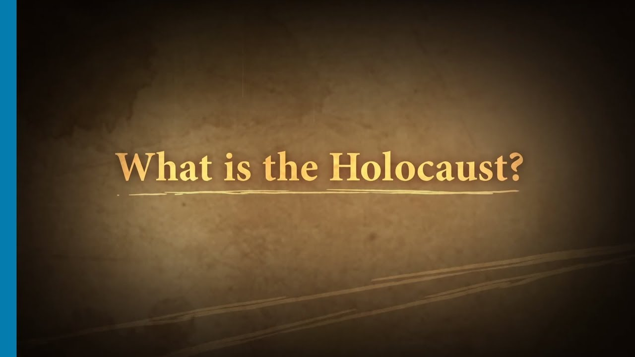 What is the Holocaust Part 17 Introduction  YouTube