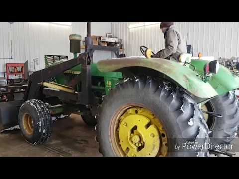 Starting to rebuild the 4020s engine!!