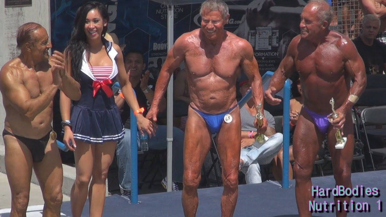 Jim Arrington 80 Year Old Bodybuilder Wins at Muscle Beach, CA 5 ...