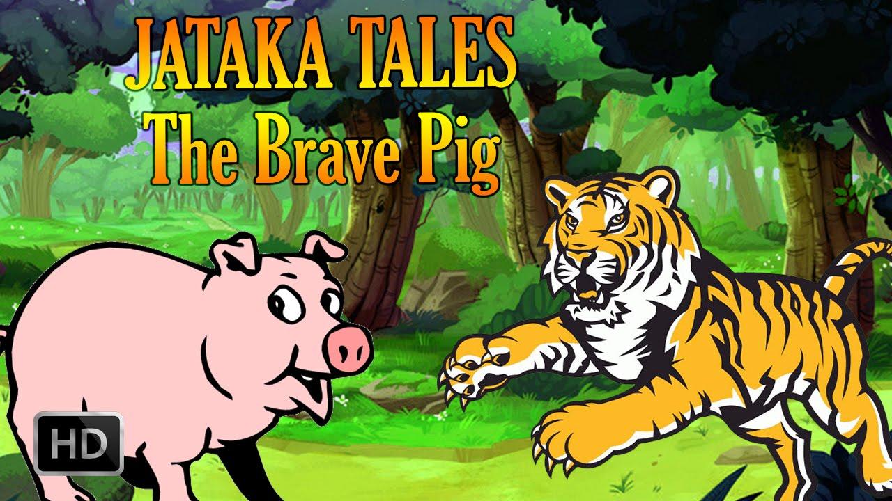 Uncategorized Story Of Animals For Kids jataka tales the brave pig animal stories youtube
