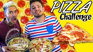 PIZZA CHALLENGE 🍕 | Matt & Bise