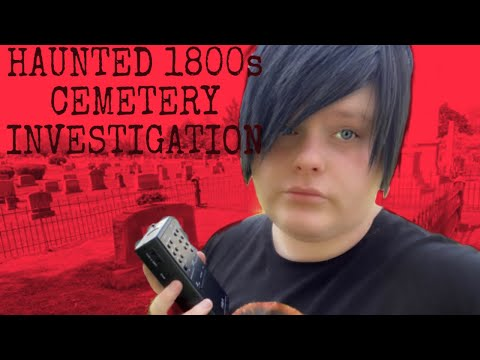 PARANORMAL INVESTIGATION AT HAUNTED 1800s CEMETERY//BETHESDA