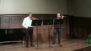 Spohr Grand Duo in D Maj for Two Violins, Op. 67, no. 2, Allegro