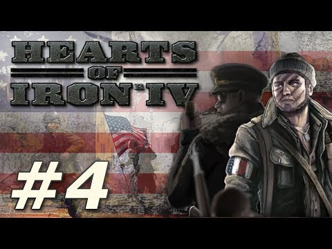 Hearts Of Iron IV: Kaiserreich | American Union State - Part 4