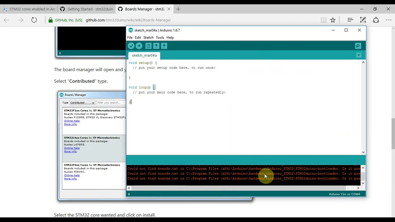 Arduino with STM32