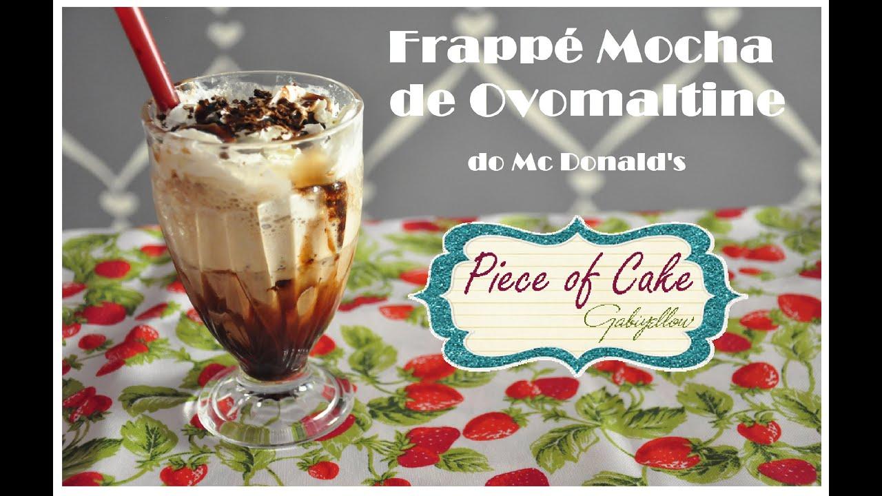 how to make iced mocha frappe like mcdonalds