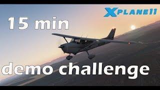 X plane 11 VR - 15 min demo challenge