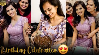 Ramya Pandiyan Birthday Celebration Video | Special Surprise By Family & Friends | Cooku With Comali