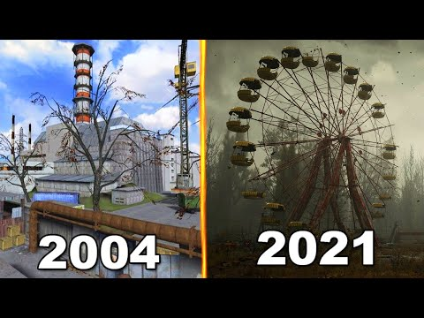 Evolution of Chernobyl Games 2004-2021 |
