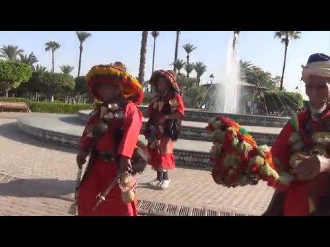 Was haben wir in Marrakesch gesehen, der zweite Tag, Marokko. Familie A&H PANT