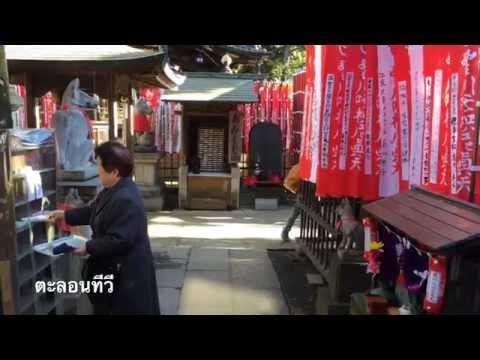 เที่ยวญี่ปุ่น ตอนแนะนำวัดและศาลเจ้าอินาริ โทโยคาว่าอินาริ 豊川稲荷東京別院