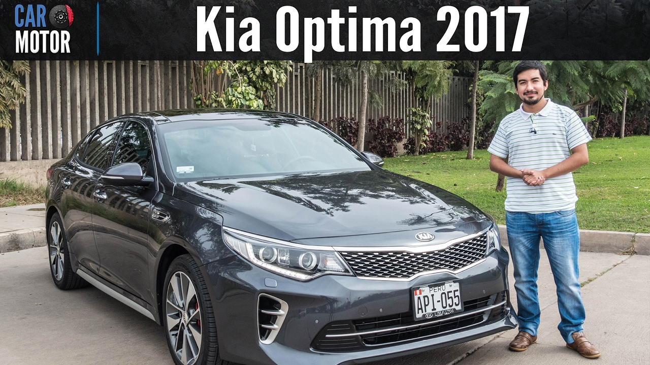Kia Optima 2017 Car Motor