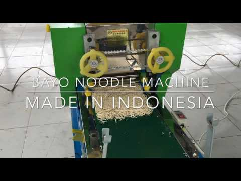 Fresh Noodle Machine from Bayo Indonesia type KT 955