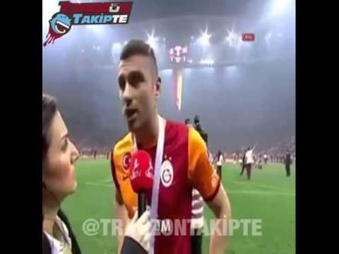 Burak Yılmaz'ın şampiyonluk sevinci ve trabzonspor sevgisi