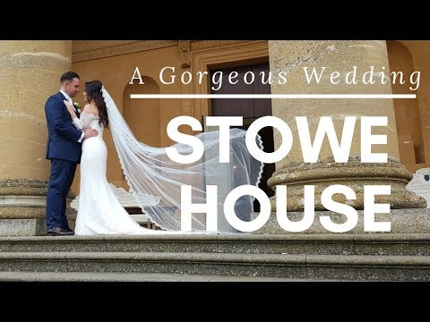 A Wedding At Stowe House- Blush and Blossom Decor