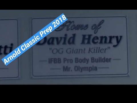 Arnold Classic 2018 prep