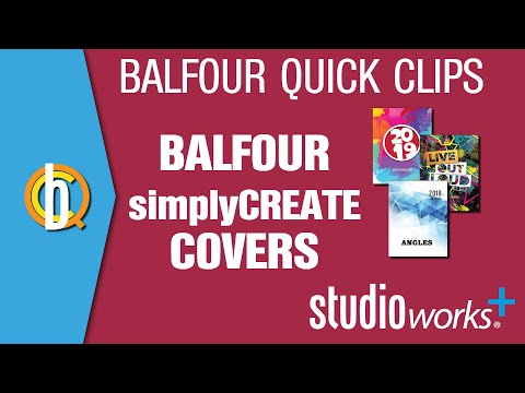 Studio.Balfour: simplyCREATE Covers