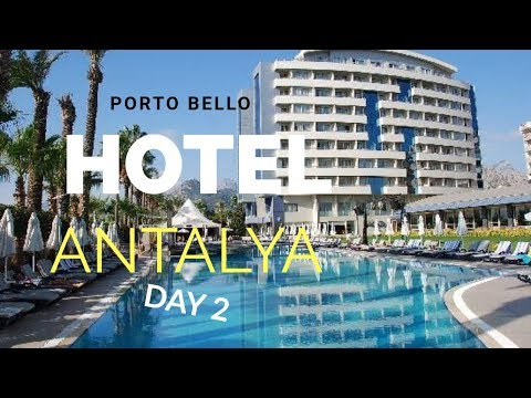Porto Bello Hotel Antalya Turkey. Hotel Entertainement And Fitness (Ep3)