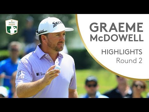 Graeme McDowell Highlights   Round 2   2018 Italian Open
